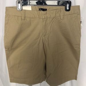 GAP Chino Shorts Size 10 NEW